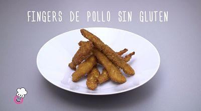Fingers de pollo sin gluten