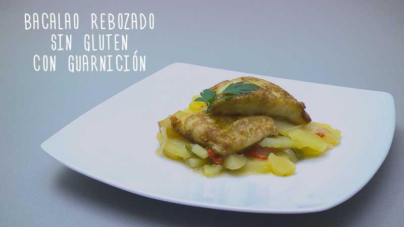 Bacalao rebozado sin gluten