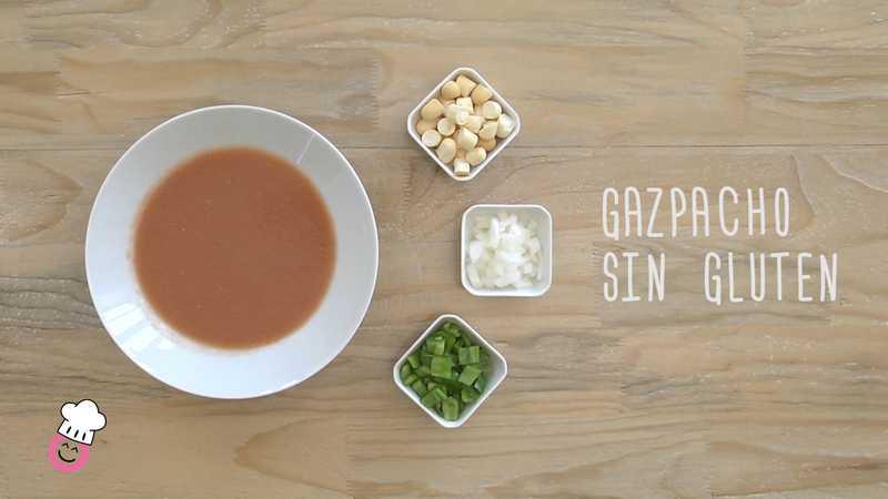 Gazpacho sin gluten