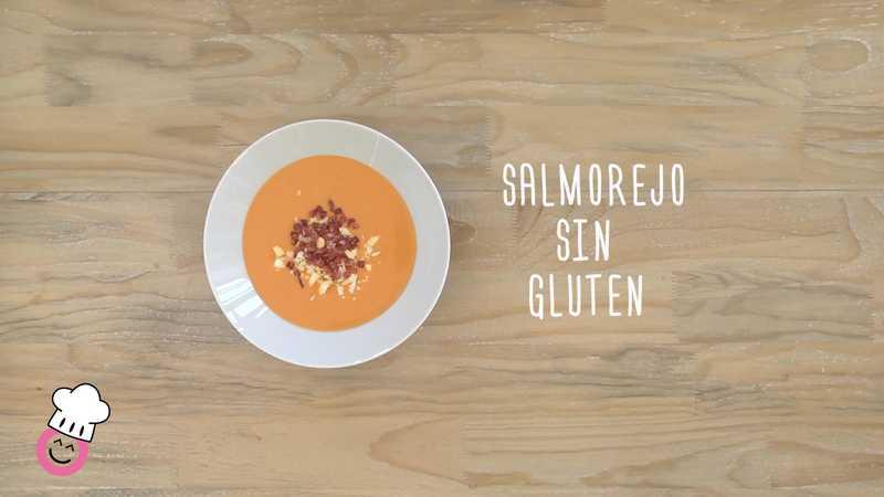 Salmorejo sin gluten