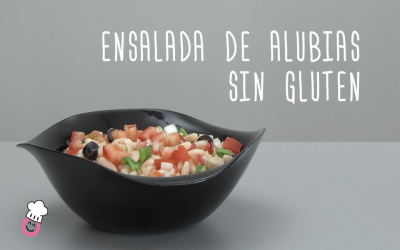 Ensalada de alubias sin gluten