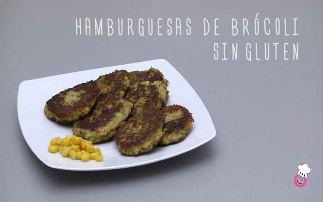 Hamburguesa de brócoli sin gluten