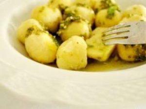 ñoquis de patata rellenos