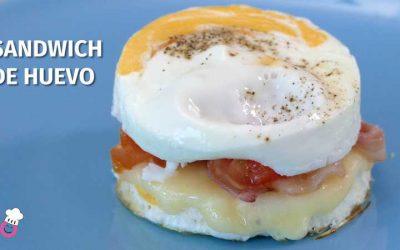Sándwich de huevo sin gluten ¡La alternativa para hacerte un buen sandwich!