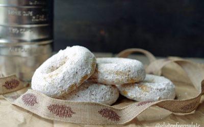 Donuts de calabaza sin gluten. ¡Deliciosos!