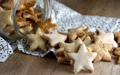Estrellitas dulces con almendras y avellanas sin gluten de Schär