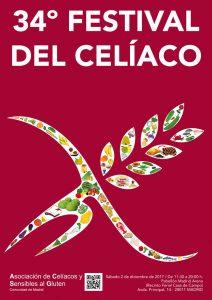 cartel 34º festival del celiaco