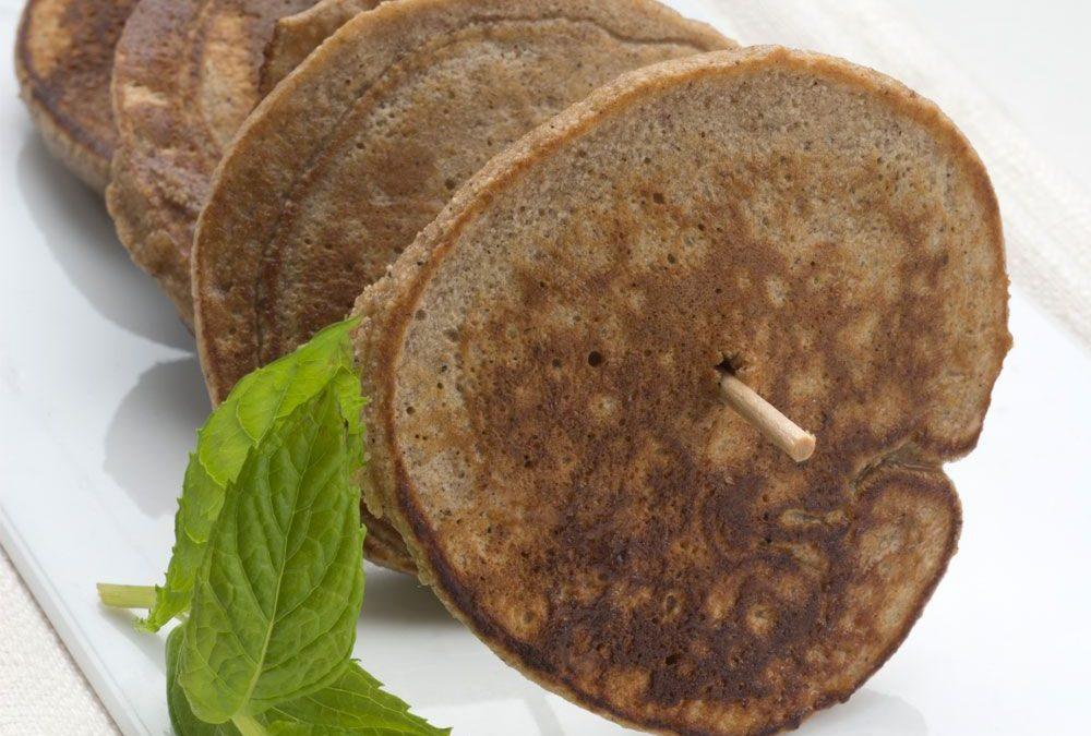 Tortitas de castaña sin gluten de Hogarmania