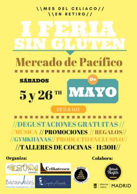 I Feria Sin Gluten en el Mercado de Pacífico