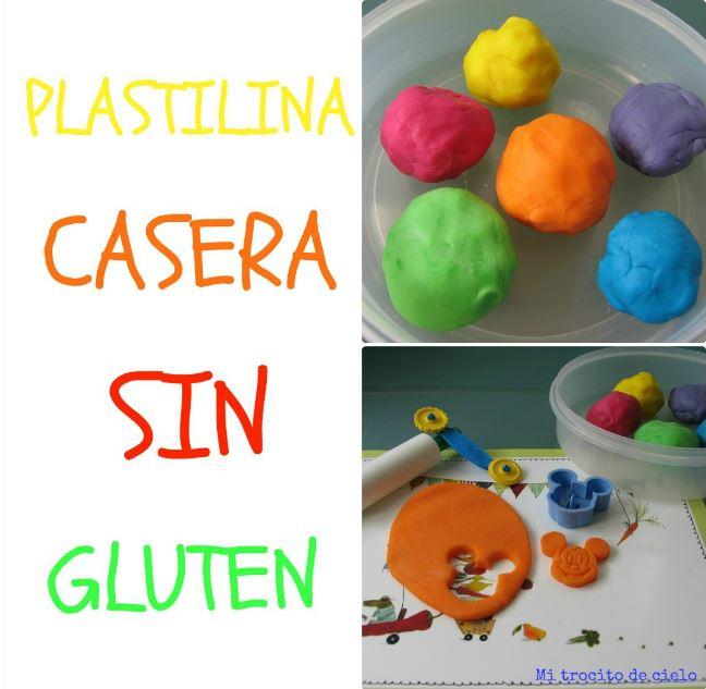 Cómo hacer plastilina sin gluten