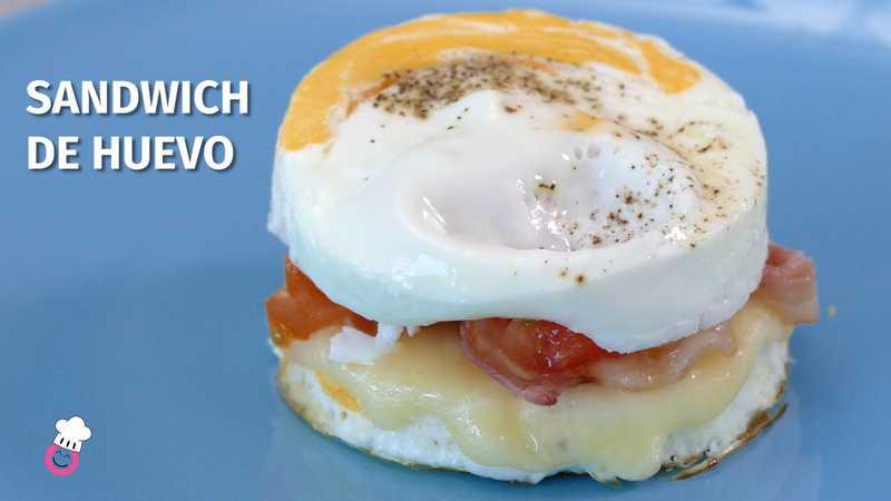 Sandwich de huevo sin gluten