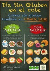 Día sin gluten en los coles