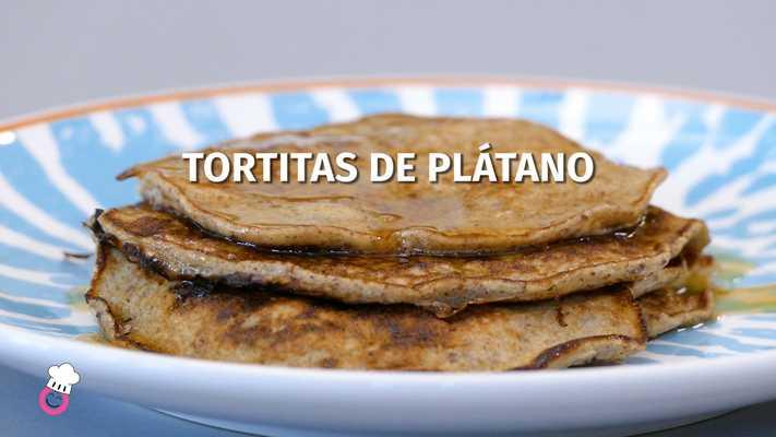 Tortitas de plátano sin gluten