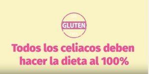 Todos los celiacos deben seguir una dieta 100% sin gluten