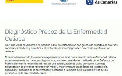 Cuestionario sobre el diagnóstico precoz de las personas celiacas