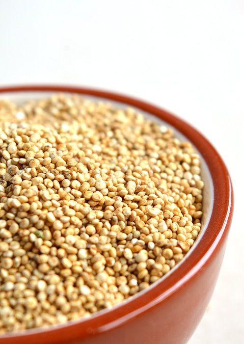 Menú de quinoa sin gluten con Glotones sin gluten