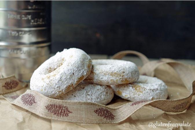 Donuts de calabaza sin gluten