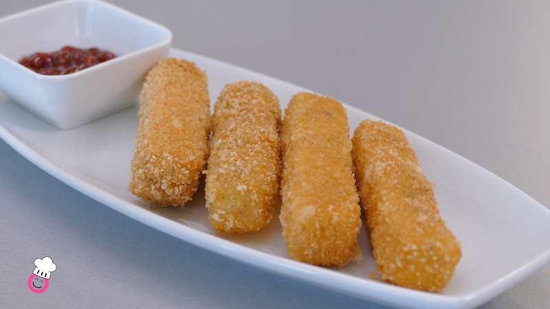 Fingers de queso sin gluten