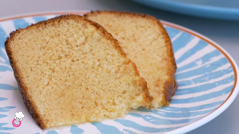 Bizcocho de maíz y leche condensada sin gluten