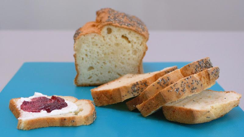 Pan de molde sin gluten super esponjoso