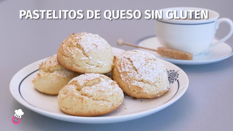 Pastelitos de queso sin gluten