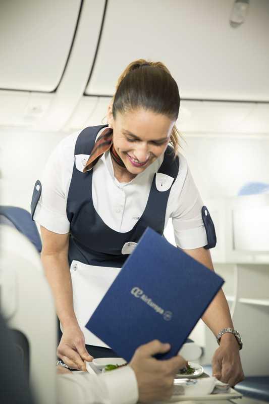 Air Europa incorpora nuevos menús sin gluten en sus vuelos