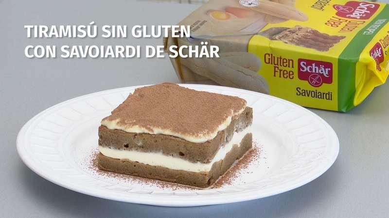Tiramisú sin gluten con Savoiardi de Schär